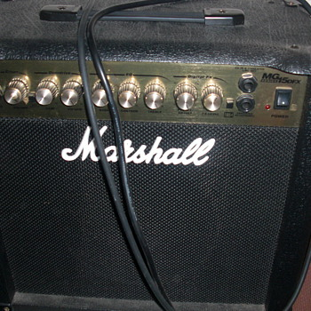 Marshall amp - Guitars