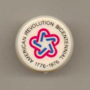 """Bicentennial"" Pinback - Medals Pins and Badges"