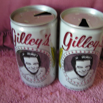 A REAL BEER CAN(GILLEYS) COLLECTOR'S DREAM OF - Breweriana