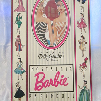 Barbies and Paper Dolls