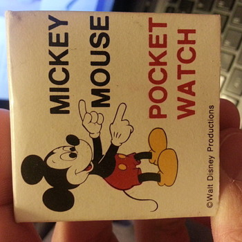 Bradley Red Mickey Mouse