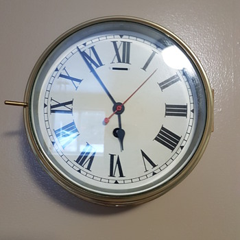 Smiths Bulkhead Ship Clock - Clocks
