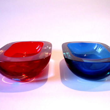 Two Cenedese bowls - Art Glass