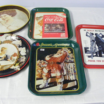 coke tray - Coca-Cola