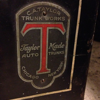 C. A. Taylor Auto Trunk - Furniture