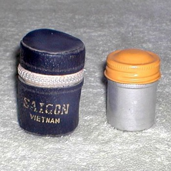 Film Holder and Tin - Saigon, Vietnam - Military and Wartime