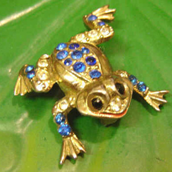 Coro Vintage Collection Continued 1940's-1950's Love the Frog! - Costume Jewelry