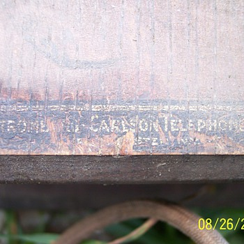 Vintage Stromburg Carlson crank desk phone