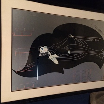 1980s Erte Posters and an Artist Proof lithograph