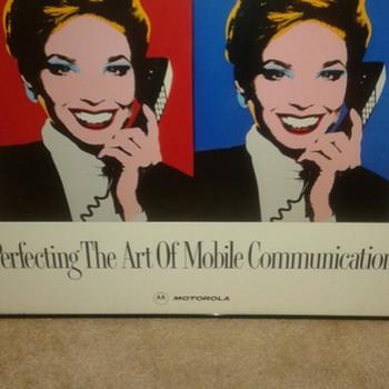 Motorola Advertising posters - Advertising