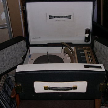 RARE CLUB CUSTOM DELUXE RECORD PLAYER &quot;OLE SCHOOL DJ&quot; EQUIPMENT