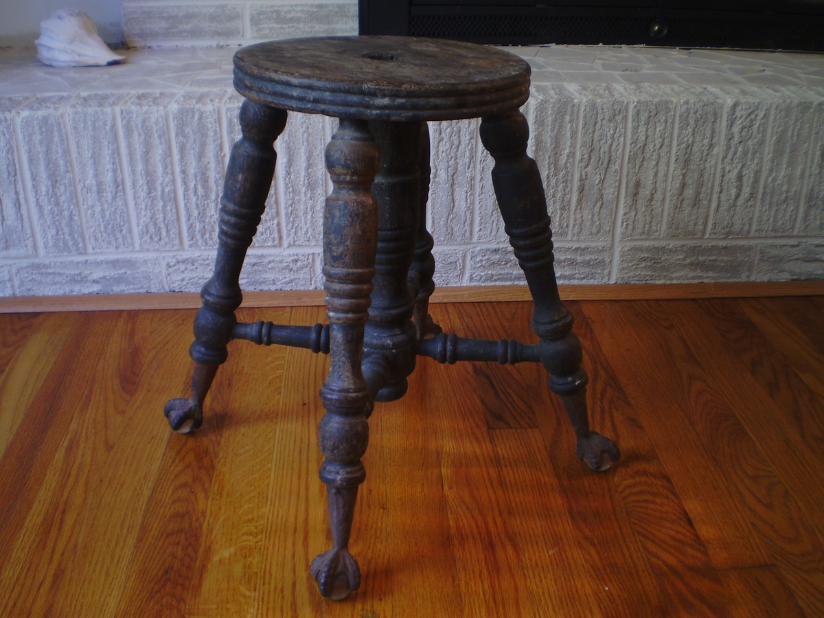 Antique Piano Stool Collectors Weekly
