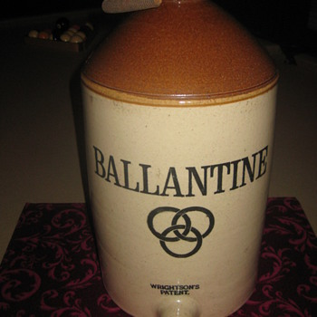 ballantine james stiff and sons beer cask - China and Dinnerware