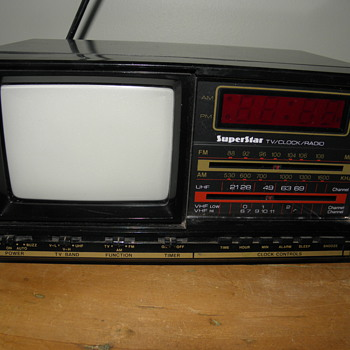 TV-Clock-Radio - Electronics
