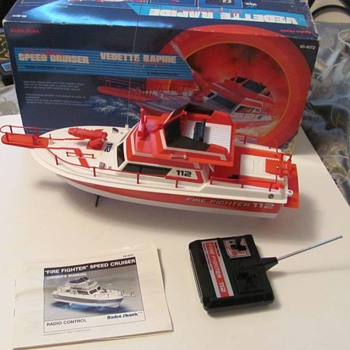 Radio Control Fire Boat from Radio Shack - Firefighting