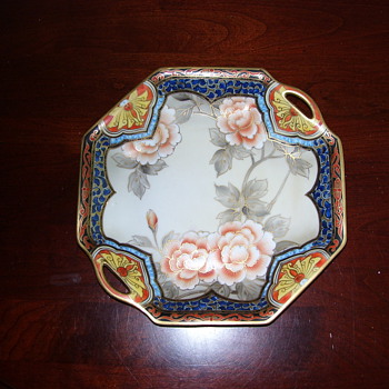 NIPPON HAND PAINTED PORCELAIN PLATE