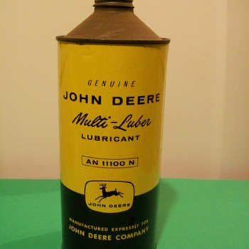John Deere Multi-luber - Petroliana