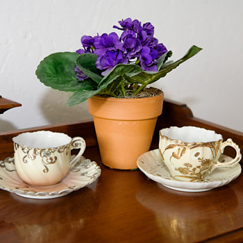 Old teacup from Wales - China and Dinnerware