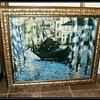 BLUE VENICE -- Oil Painting ( copy )
