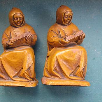 Monk book ends ..