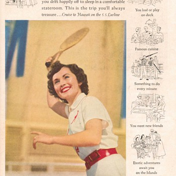 1951 - Matson Lurline Advertisement - Advertising