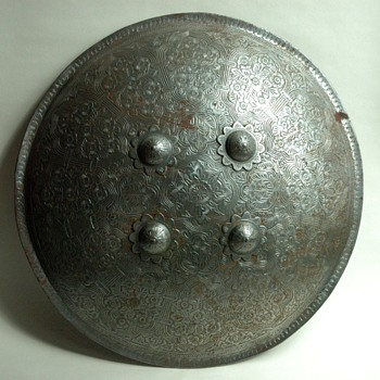 antique Indian Dhal Shield  - Asian