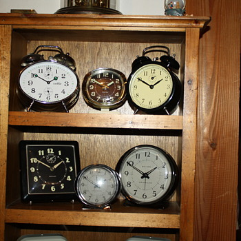 Alarm Clock Collection - Clocks