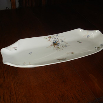 Huge old Paris tray - China and Dinnerware