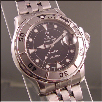 Rolex Tiger Tudor Prince Wristwatch