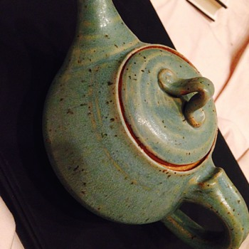 Pottery Teapot - Art Pottery