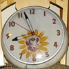Old Borden's Elsie the cow light-up clock