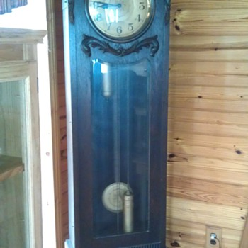 antique grandfather clock from Germany