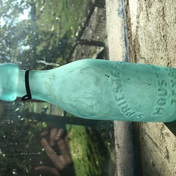 Houston Texas blob top bottle