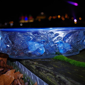 JOBLING OPALESCENT JARDINIERE  SUNDERLAND - Art Glass