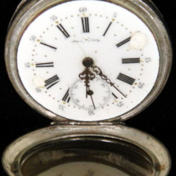 "Post #2, additional pictures of "" Silver pocket watch"""