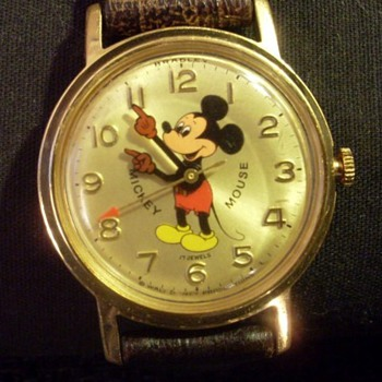Bradley 17 jewels Mickey Mouse &amp; Golay