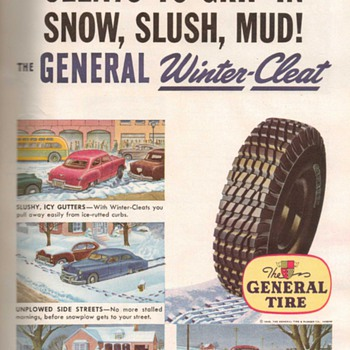 1948 - General Tires Advertisement - Advertising