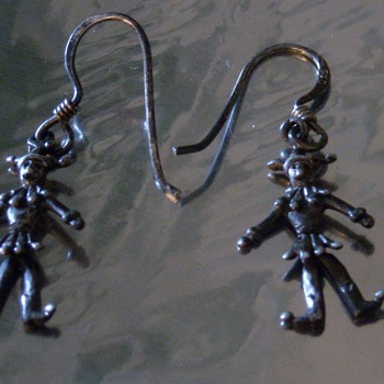 "Mini ""Dancing"" Jester Earrings"