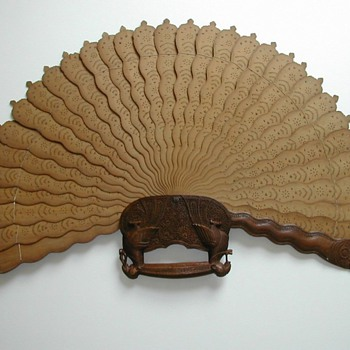 Ceremonial fan of Malaysia - Asian
