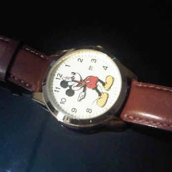 My favourite Boy Size Mickey watch (Seiko)