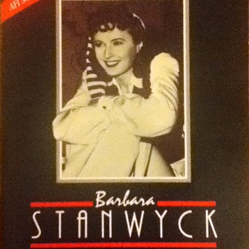 Barbara Stanwyck Life Achievement Award Souvenir Book - Movies