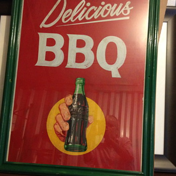 Want to Learn About this poster....it may be an original  - Coca-Cola