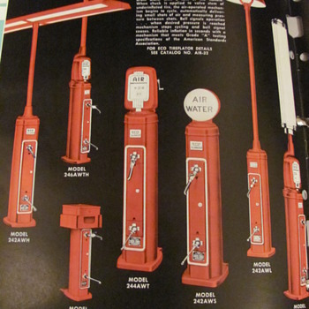 ECO air &amp; water dispencers 1959 Bennett-Eco catalog - Petroliana
