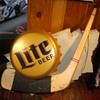 1993 Miller Lite Hockey Bottle Cap Light