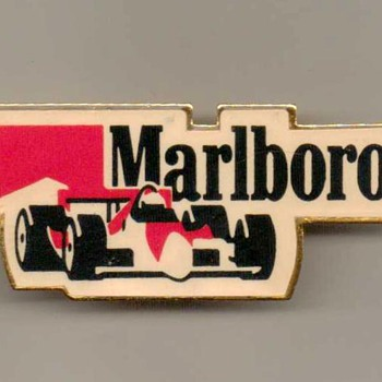 1995 - Marlboro Racing Pinback - Medals Pins and Badges