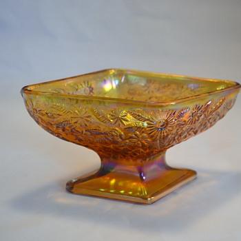Amber Diamond Bowl