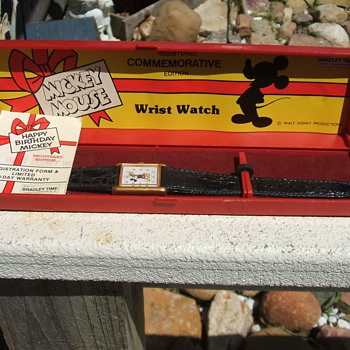 1978 50th Birthday Mickey Wristwatches