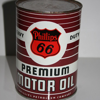 Phillips 66 oil can - Petroliana