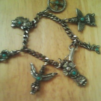 Baby / Child Native Charm Bracelet - Native American