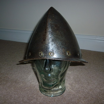 16th Century Cabasset Helmet with Makers Mark 
